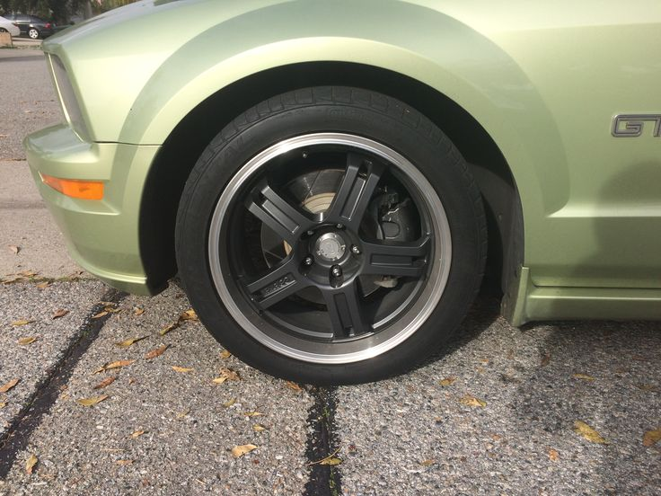 The wheel on my 05 Mustang..