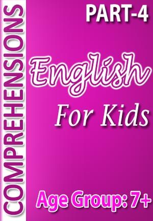 ENGLISH COMPREHENSIONS FOR KIDS-PART-4 Read the comprehension carefully then answers the questions Each comprehension is followed by multiple choice questions. 1. The big frog 2. The clown 3. The proud elephant 4. There was a cat 5. What animal is it 6. What day is it 7. What is more beautiful 8. What shape is it 9. Wicked wilma 10. Woodpeacker   PRICE :- RS.61.00