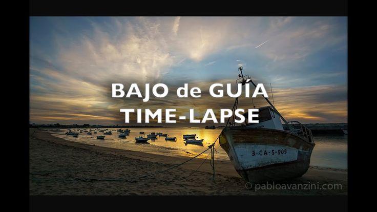 Bajo de Guía Sunset Cadiz Spain Time-Lapse 4K Royalty Free Footage Files