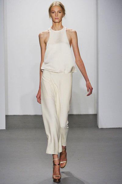 【ELLE】カルバン・クライン(ランウェイ)   001   2011春夏NYコレクション エル・オンライン