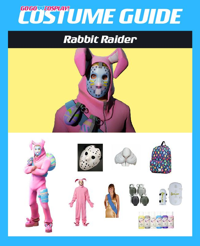 Rabbit Raider Costume From Fortnite Diy Guide For Cosplay