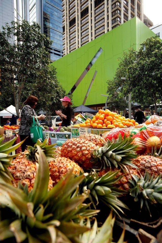 Wednesday farmers markets in the CBD