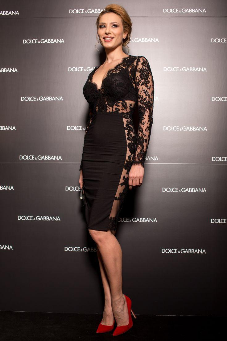 Iulia Vantur -  Opening of the Dolce & Gabbana flagship store in Romania