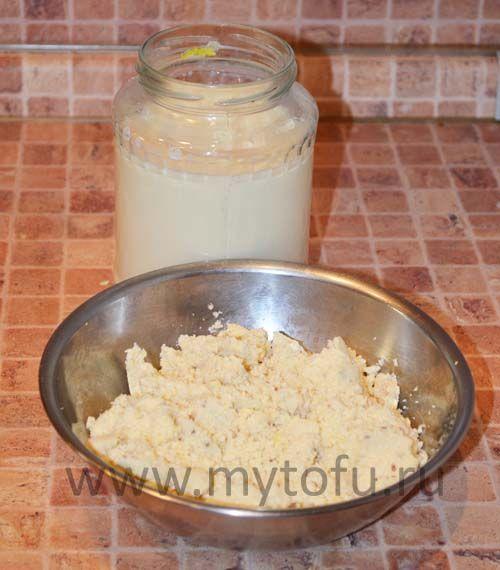 Соевое молоко и окара