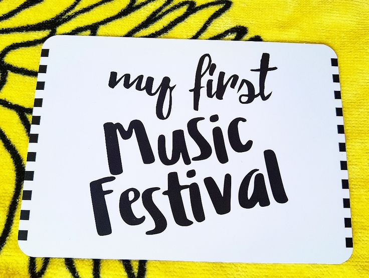 Milestones for your 20s. My first music festival. Gift ideas. Life is a journey... share your ride!