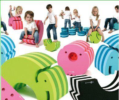 Nice Bobles Foam Furniture For Kids