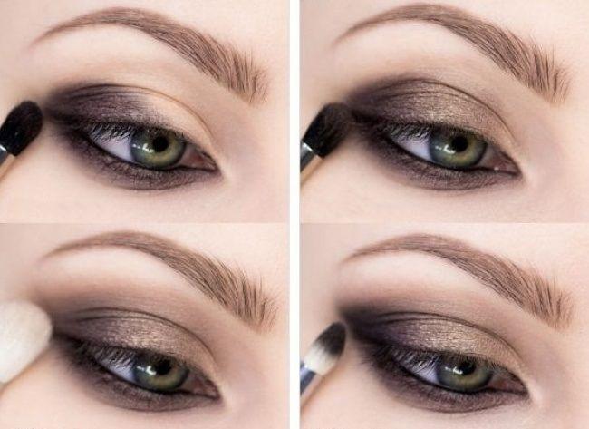 Смоки айс для зеленых глаз - пошаговое фото и видео - t