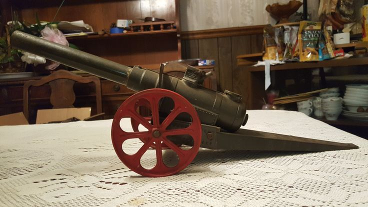Vintage Conastoga Cast Iron Calcium Carbide Big Bang 15FC Artillery Field Cannon by SpecialHonorDesigns on Etsy