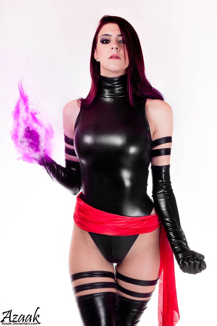 Psylocke Cosplay - Marianne Black by Azaak on DeviantArt #cosplay