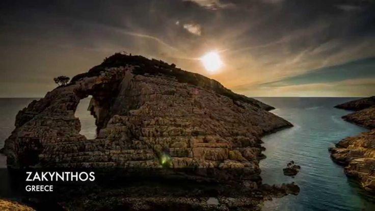 Timelapse of Zakynthos Greece