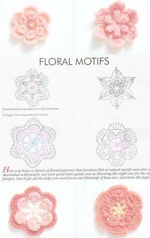 flores en crochet - Szukaj w Google