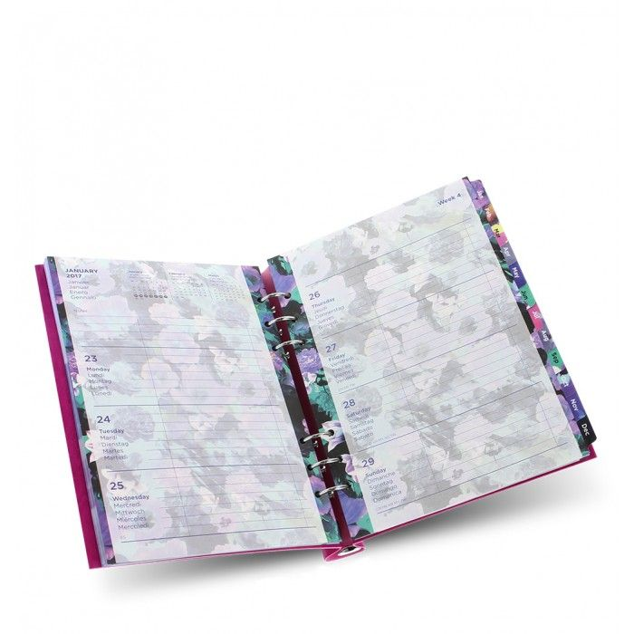 Floral Illustrated Diary Refill Pack