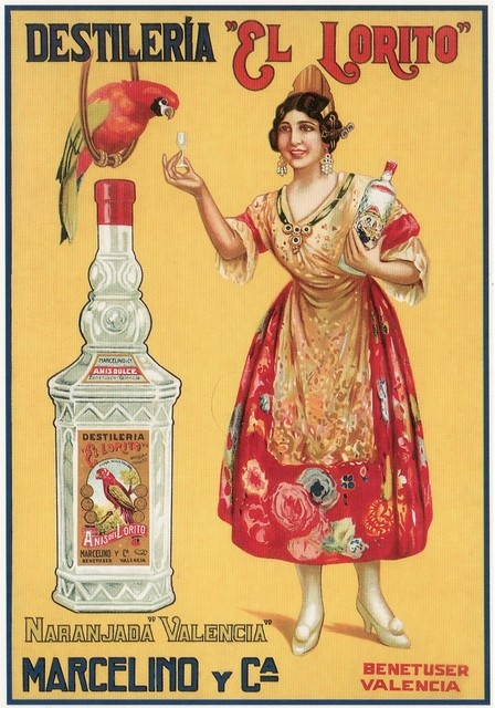 17 images about spanish 1950s illustration on pinterest - Vintage valencia ...
