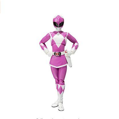 Bandai Tamashii Nations S.H. Figuarts Mighty Morphin Power Rangers Mighty Morphin Pink Ranger Action Figure