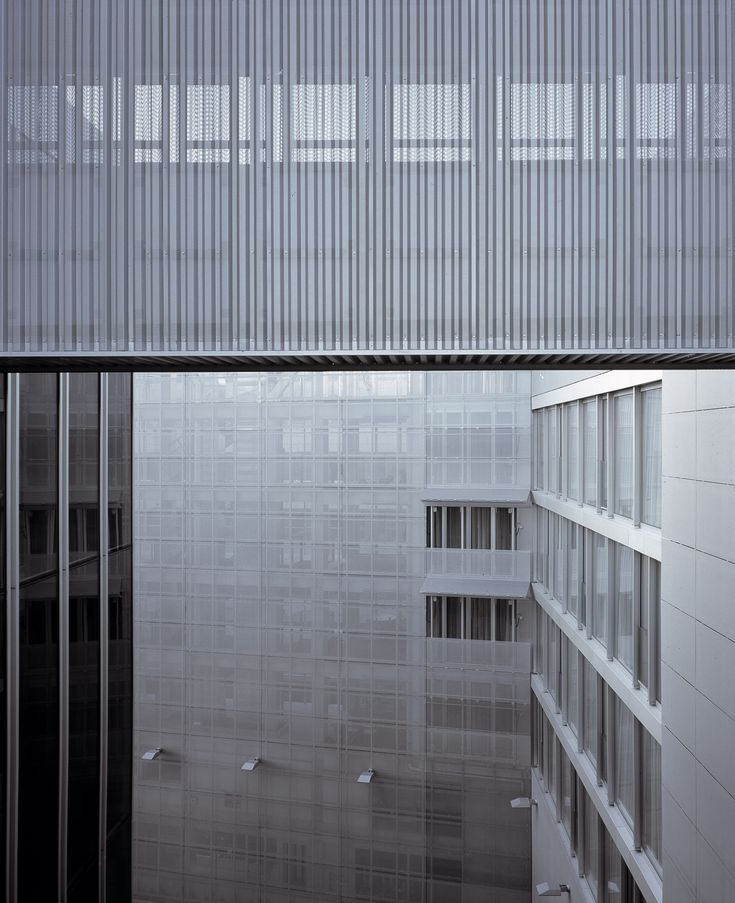 Nick Kane photography #architecture Dutch Embassy, Berlin. Architects - Rem Koolhaas & OMA