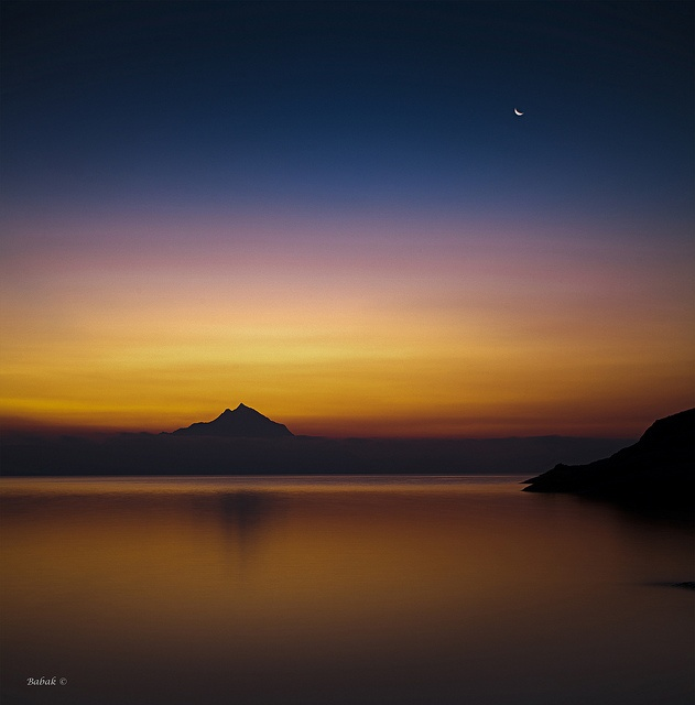 ✯ First Light - Mount Athos, Greece