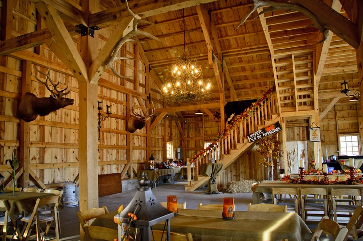This barn is ready for entertaining party barn www for Traditional barn kits