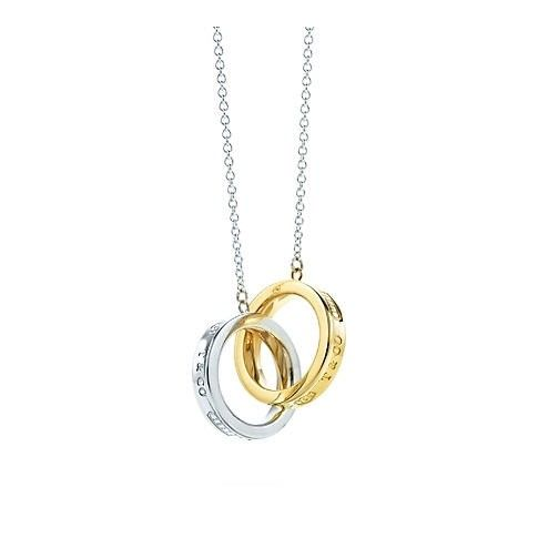 Tiffany And Co 1837 Bloqueio Circles Sterling Silver