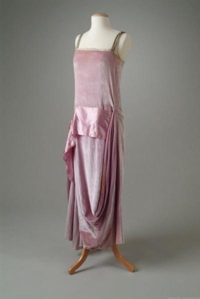 Callot Soeurs evening dress ca. 1922 via The Meadow Brook Hall Historic Costume Collection