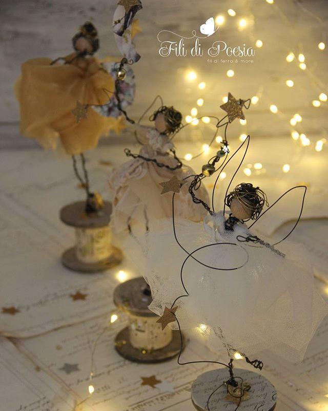 Christmas fairies Fili di Poesia unique creations