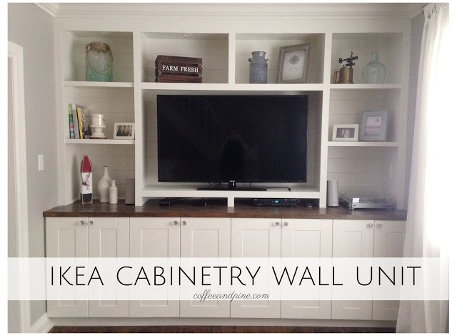 Ikea Hack Wall Unit An Affordable Way To Build A Wall