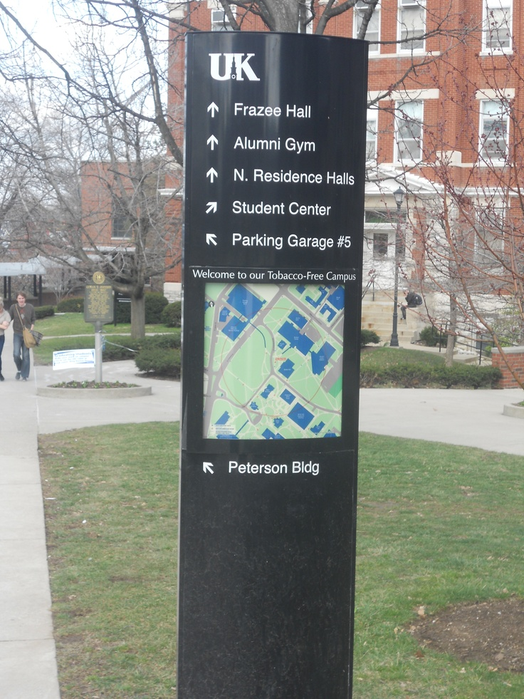 Lost? Look for these maps to help you find your way: Campus Landmarks, Uk Mom