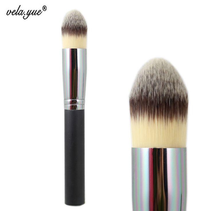Synthetic Pointed Foundation Brush Large Tapered  Contour Powder Kabuki Brush