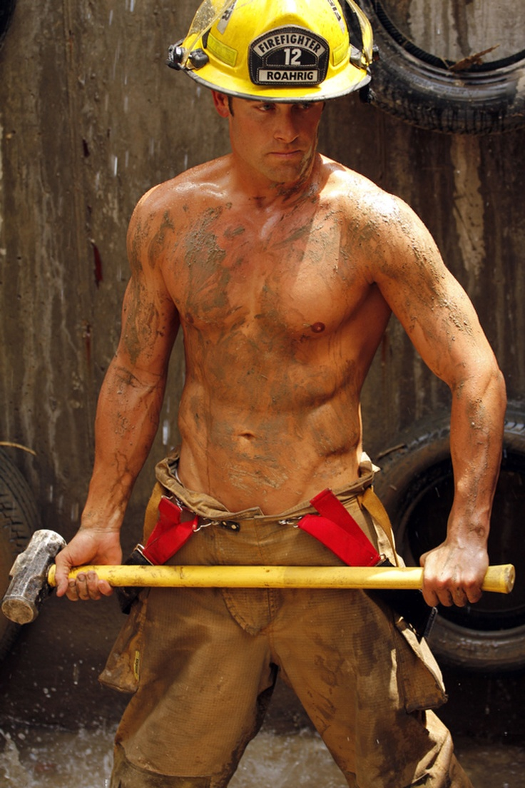2013 Colorado firefighter photo shoot - Westword: Come here, dirty boy!