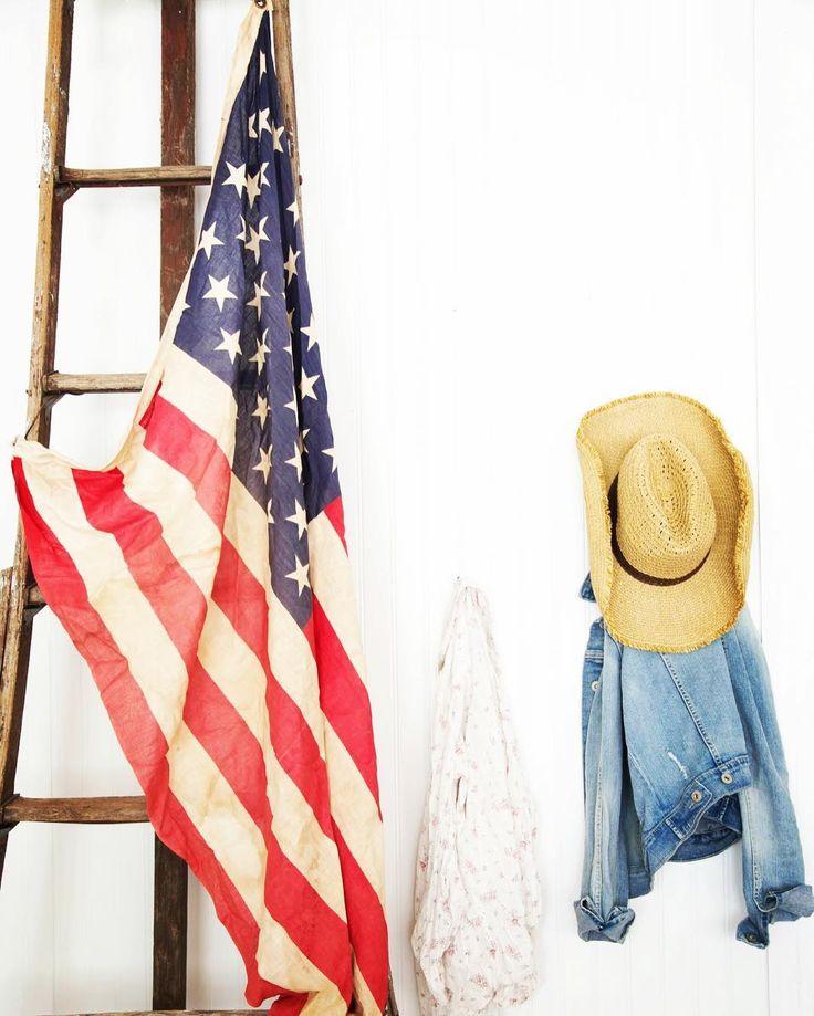 Happy Memorial Day weekend - honoring and remembering. #America  #memorialday #grandoldflag #denim #cowgirl #redwhiteblue #weekend #summer#usa