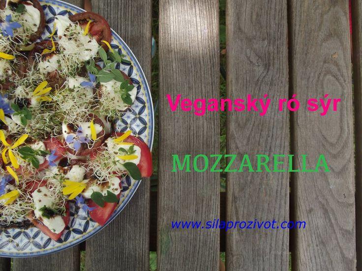 Veganský sýr MOZZARELLA - snadná a rychlá výroba - mňam!!!