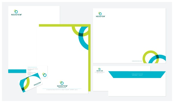 Neostem Pharmaceutical Brand Design Website
