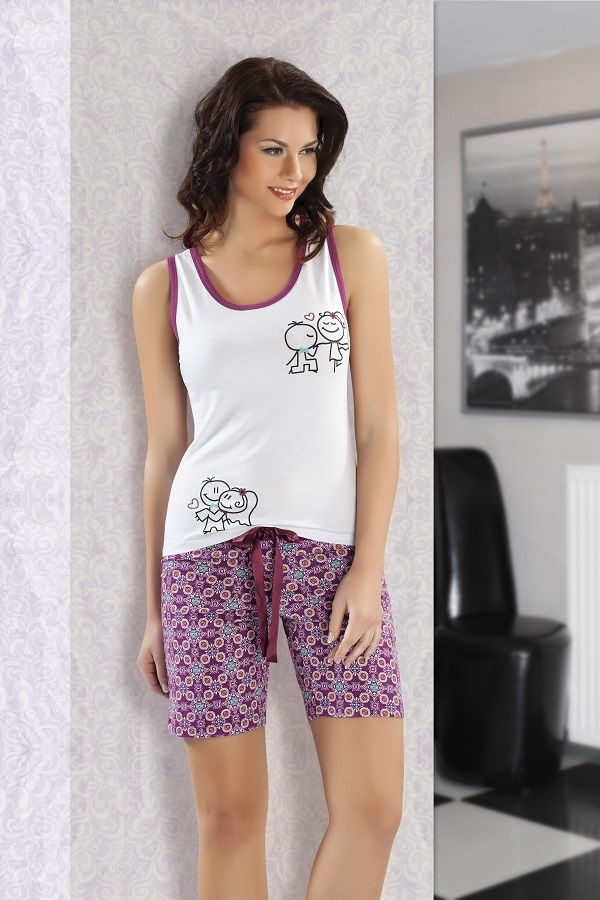 Maranda İç Giyim Atlet Şort Pijama Takımı