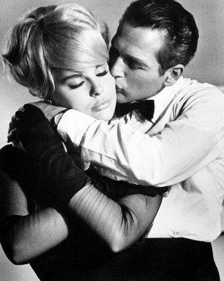 Paul Newman and Joanne Woodward wed January 29, 1958 in Las Vegas.