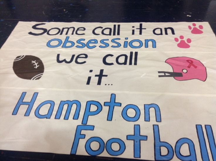 My team's run through sign for this week. Worked really hard on it. Pretty proud!!' #cheer #runthroughsign #football