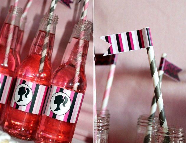 Barbie Drinks-Love!: Birthday Girls, Birthday Parties, Barbie Birthday