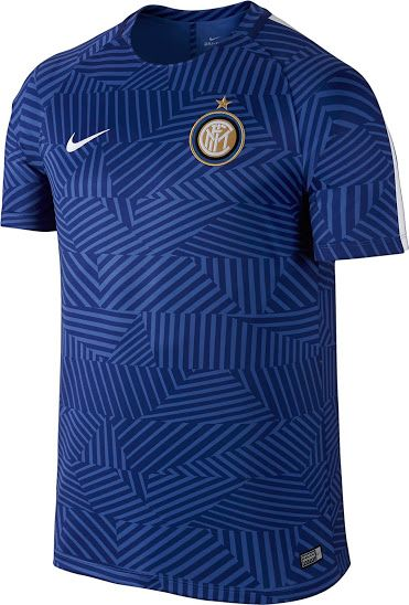 Inter 16-17 Pre-Match Shirt Released - Footy Headlines  2bf016f424298