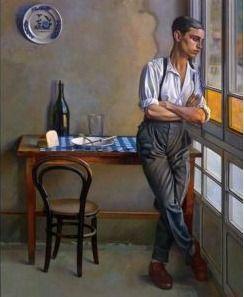Feliu Elias (Barcelona, 1878-1948) - 'La galería' 1928 -Museu Nacional d'Art de Catalunya
