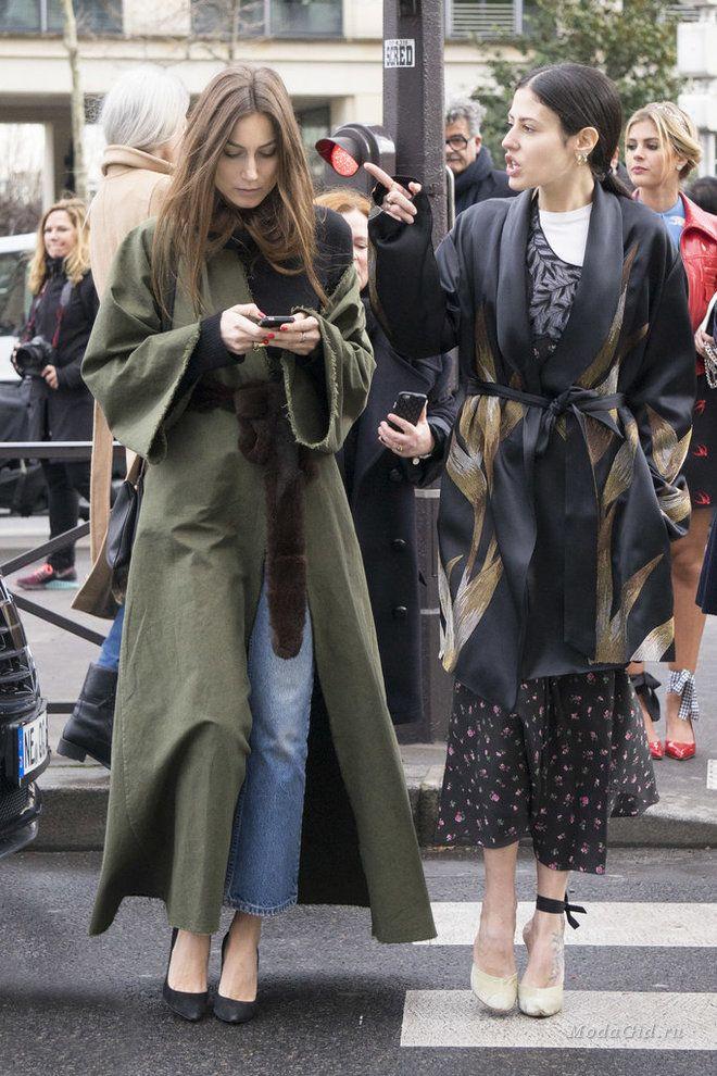 Уличная мода: Уличная мода Парижа на неделе моды осень-зима 2016-2017