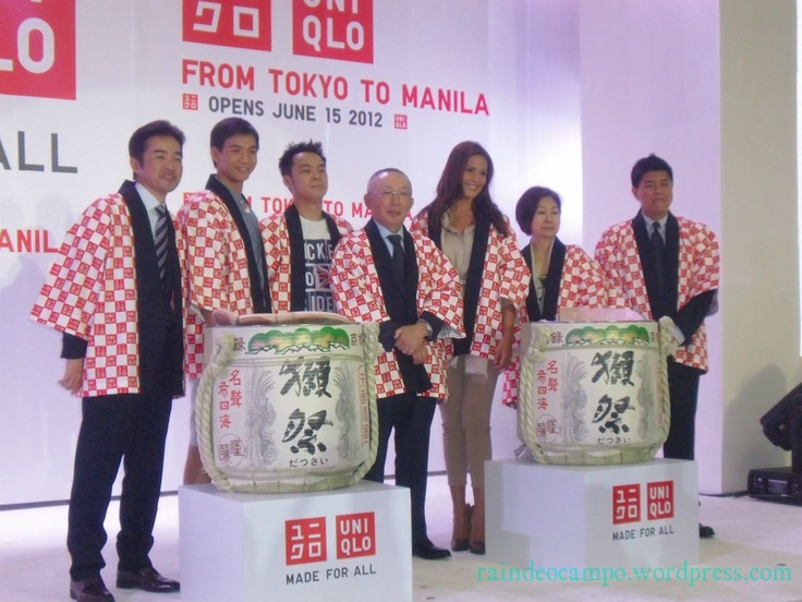 EVENTS: The UNIQLO Philippines Pre-Opening Shopping PARTY at the SM Mall of Asia
