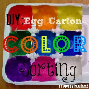 I love homemade preschool learning activities that recycle materials that I already have lying around my house and that are super easy to make, like this egg carton color sorting activity. By repurposing an egg carton with a little paint, my daughter now has an activity that can be used over and over [...]