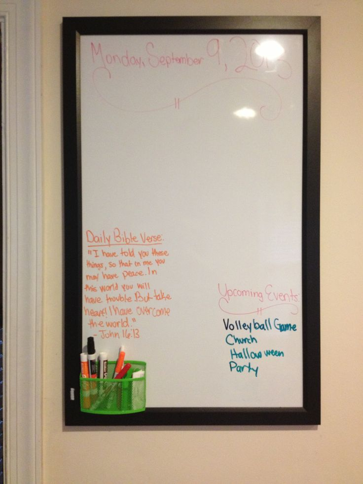Whiteboard Ideas Start Planning