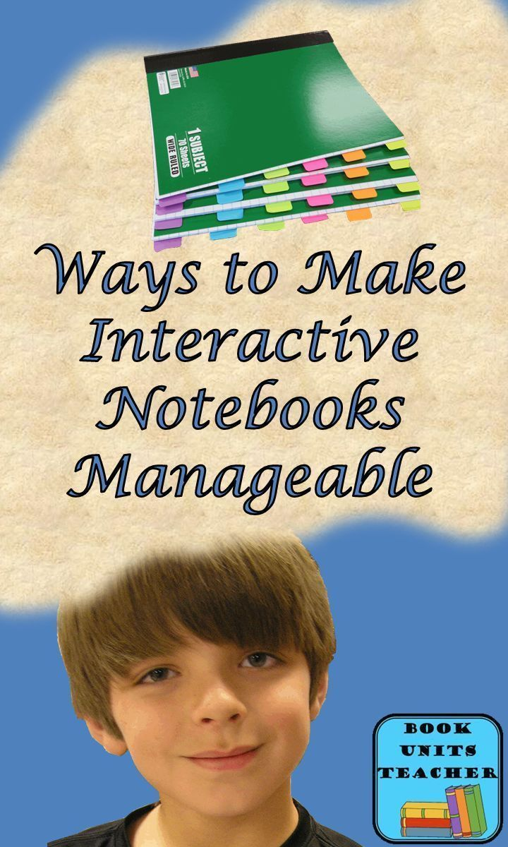 4 Ways to Make Interactive Notebooks Manageable - a MUST read if you do interactive notebooks or want to! And there is a freebie too!