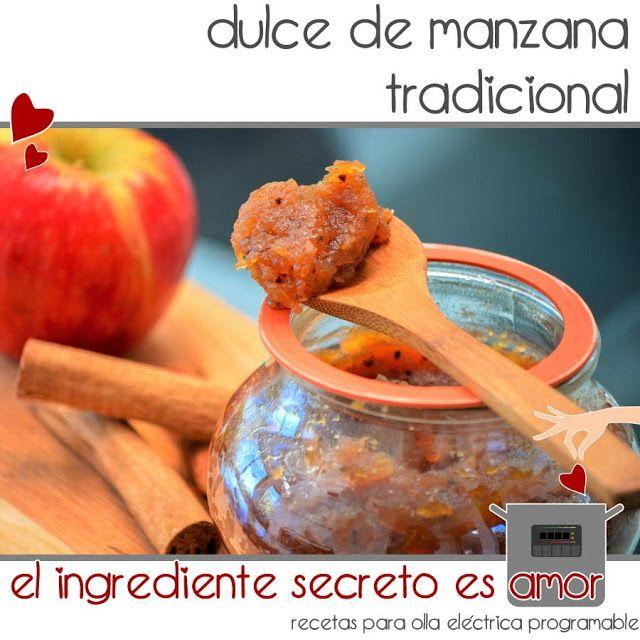Receta mermelada de manzana tradicional en olla GM F