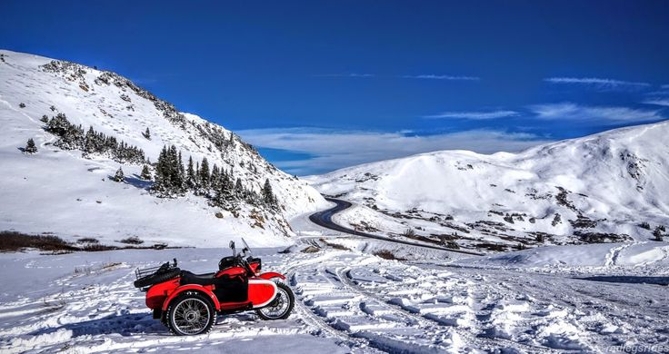 A Redleg's Rides: Snow! Loveland Pass and Dillon