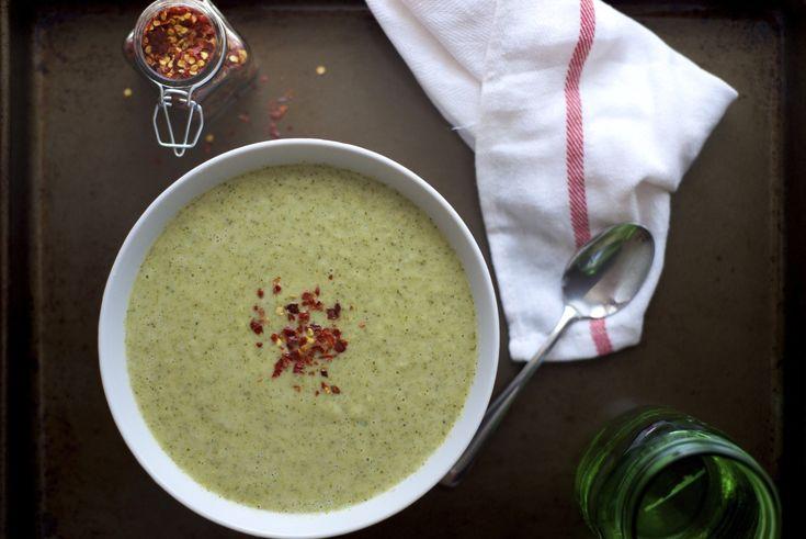 Creamy Broccoli Soup Recipe | StupidEasyPaleo.com
