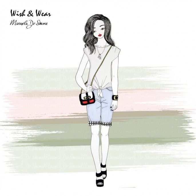 Discover the best outfits illustrated by Manuela De Simone http://www.manueladesimone.com/blog/