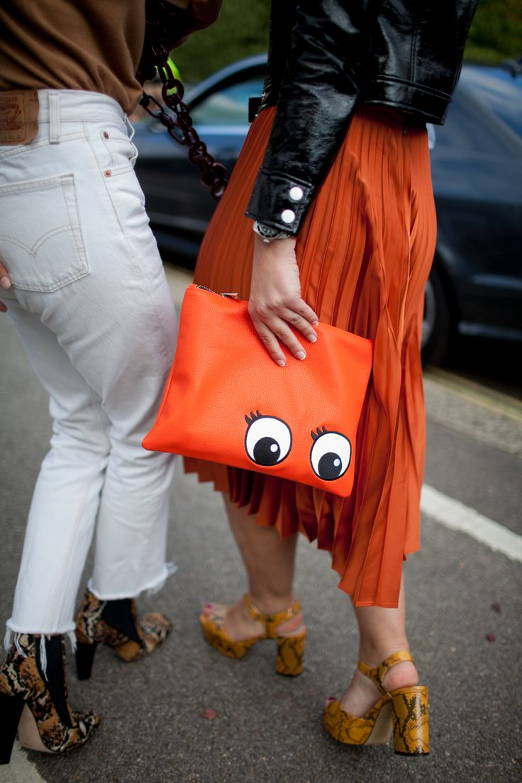 #Zbohom A Pis - Goofing around is fun. www.bmertus.com London Fashion Week Street Style Photos Spring 2016 | WWD