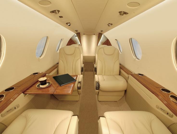 Interior of Hawker Premier 1 A