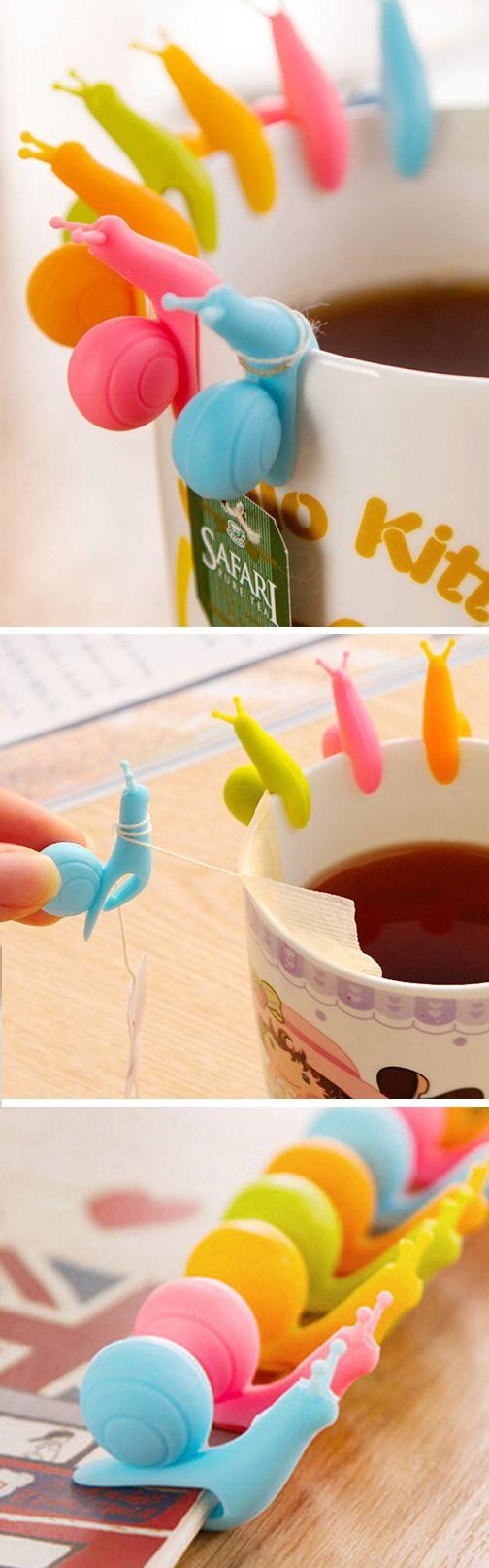 Snail Tea Bag Holder