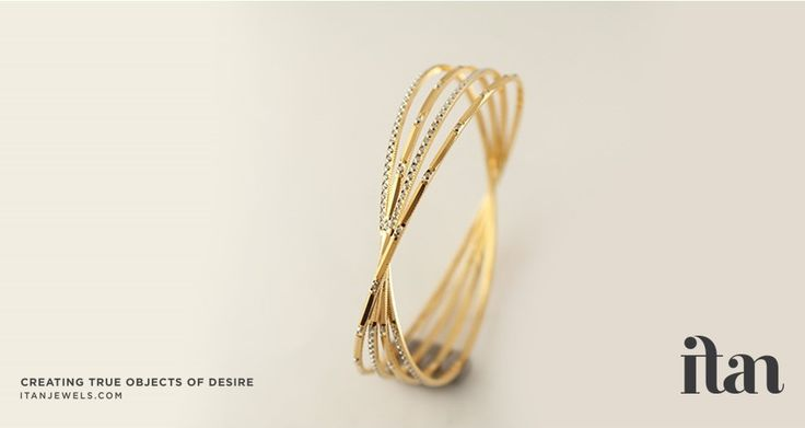 Modern and light...exactly the style of daily-wear bangle that your beautiful…